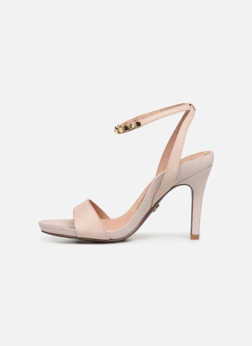 Sandales et nu-pieds Tamaris 28306 Beige vue face