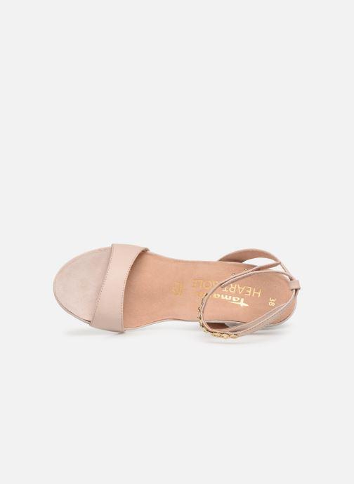 Sandales et nu-pieds Tamaris 28306 Beige vue gauche