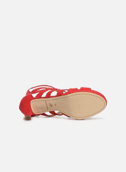 Sandali e scarpe aperte Tamaris 28353 Rosso immagine dall'alto
