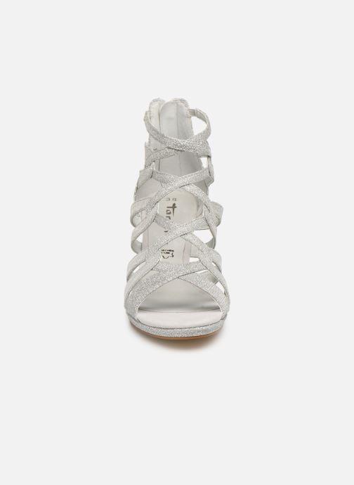 Sandali e scarpe aperte Tamaris 28353 Argento modello indossato