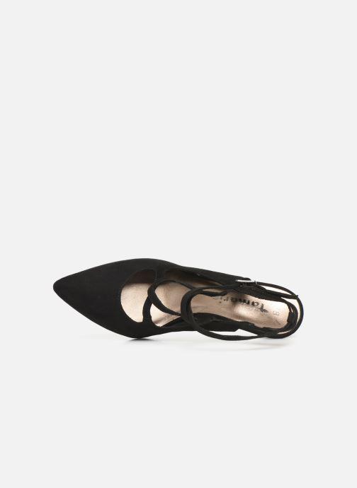 Sandales et nu-pieds Tamaris 29605 Noir vue gauche