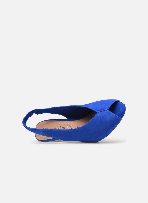 Zapatos de tacón Tamaris 29614 Azul vista lateral izquierda