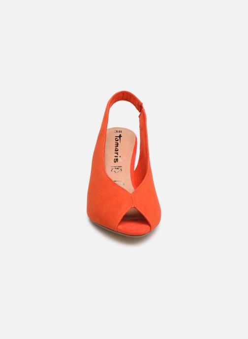 Escarpins Tamaris 29614 Orange vue portées chaussures
