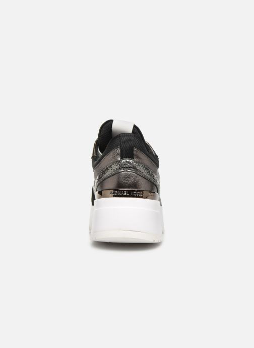 Sneakers Michael Michael Kors Ballard Trainer Nero immagine destra
