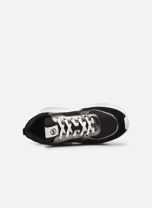 Sneakers Michael Michael Kors Ballard Trainer Nero immagine sinistra