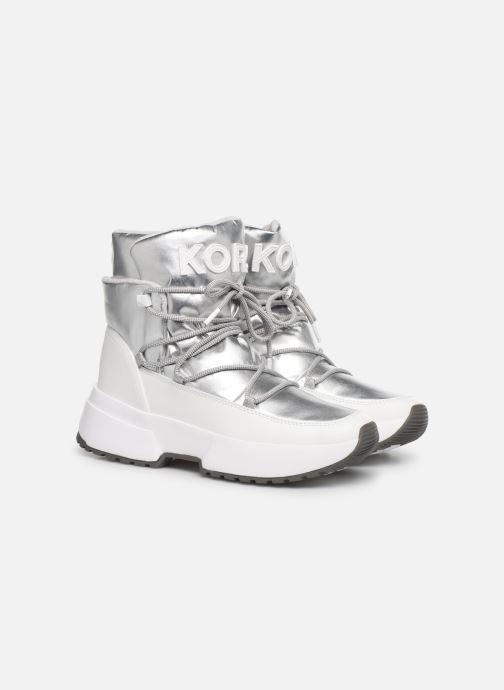 Sneakers Michael Michael Kors Cassia Bootie Sølv 3/4 billede