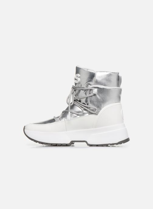 Sneakers Michael Michael Kors Cassia Bootie Argento immagine frontale
