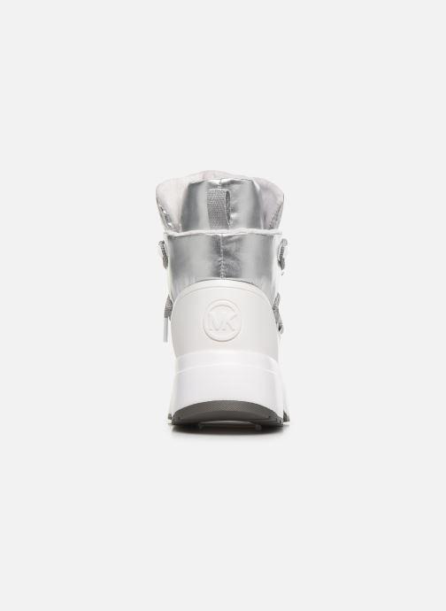 Sneakers Michael Michael Kors Cassia Bootie Argento immagine destra
