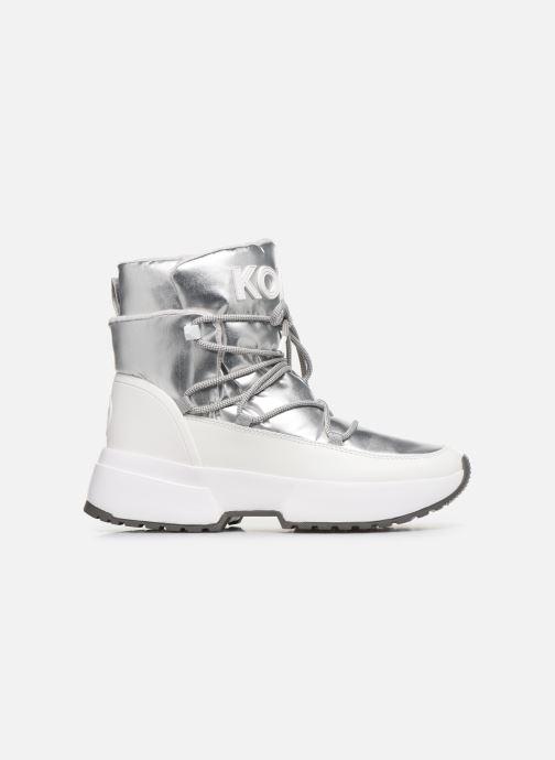 Sneakers Michael Michael Kors Cassia Bootie Argento immagine posteriore