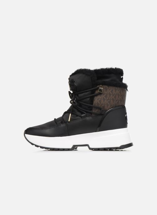 Sneakers Michael Michael Kors Cassia Bootie Nero immagine frontale