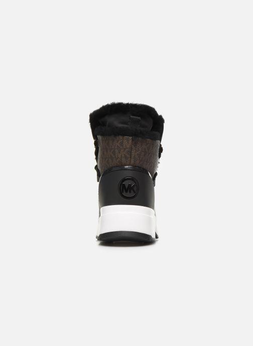 Sneakers Michael Michael Kors Cassia Bootie Nero immagine destra