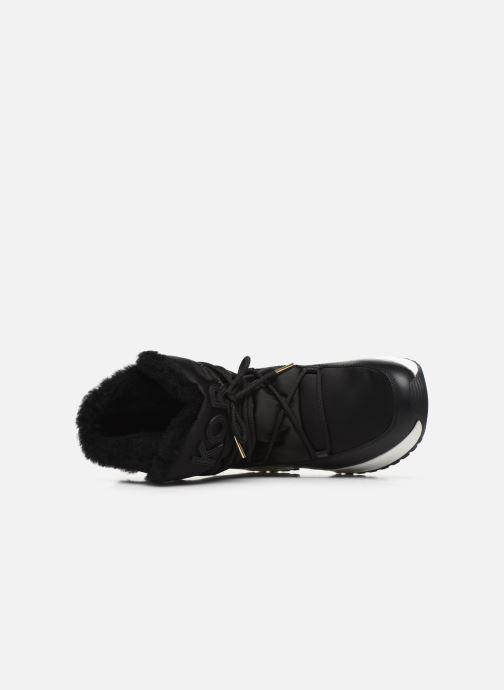 Sneakers Michael Michael Kors Cassia Bootie Nero immagine sinistra