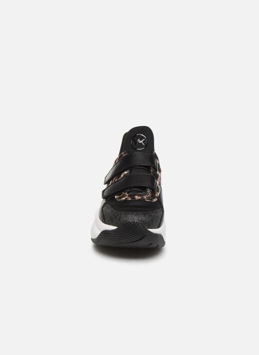 Sneaker Michael Michael Kors Keeley Trainer schwarz schuhe getragen