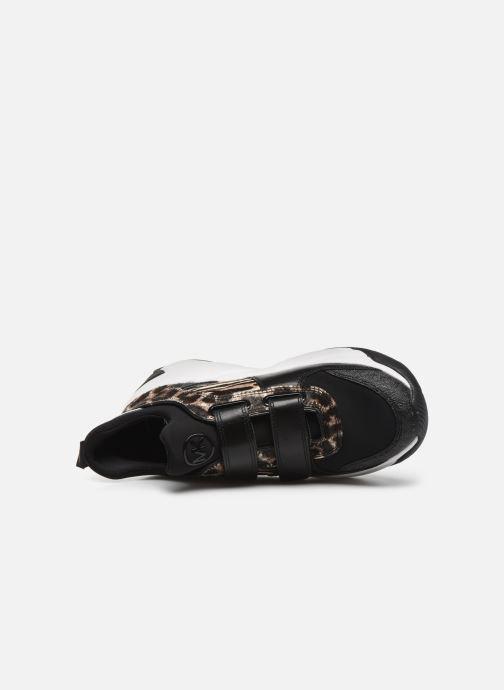 Sneaker Michael Michael Kors Keeley Trainer schwarz ansicht von links