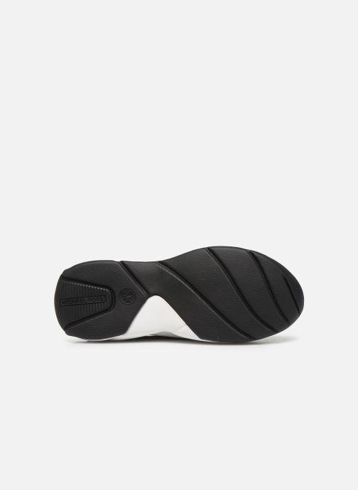 Sneaker Michael Michael Kors Keeley Trainer schwarz ansicht von oben