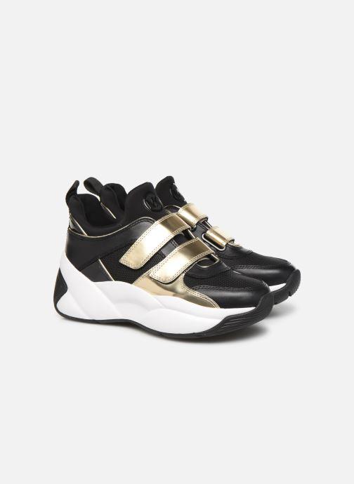 Baskets Michael Michael Kors Keeley Trainer Noir vue 3/4