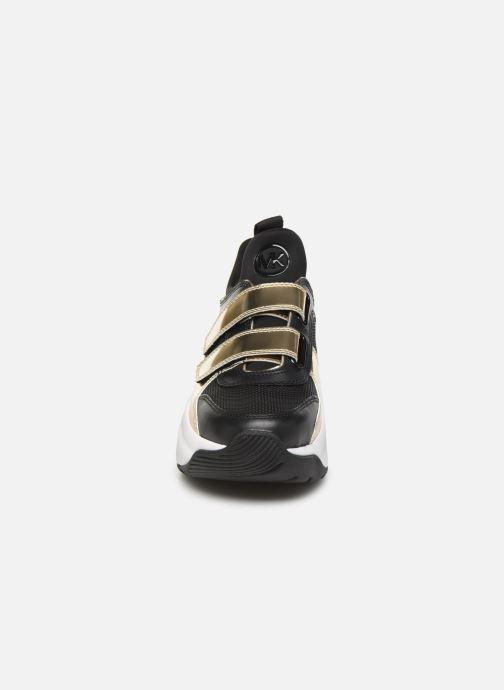 Sneakers Michael Michael Kors Keeley Trainer Nero modello indossato