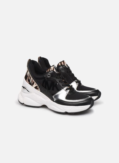 Sneakers Michael Michael Kors Mickey Trainer Zwart 3/4'