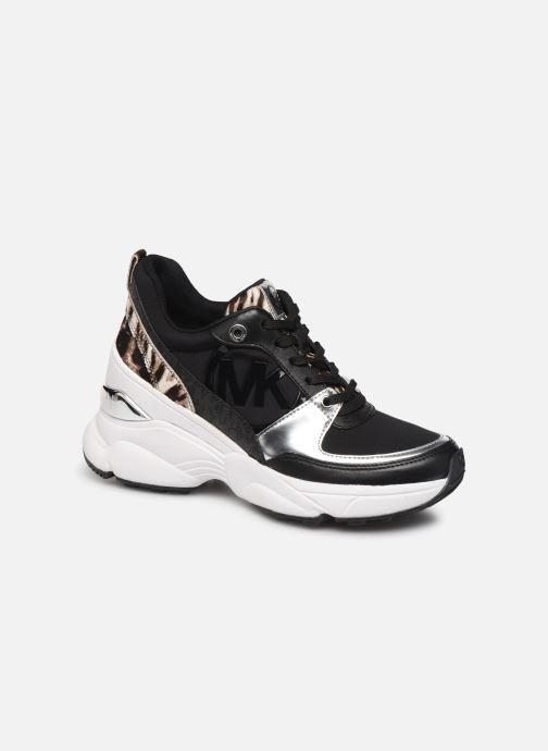 Sneakers Michael Michael Kors Mickey Trainer Zwart detail