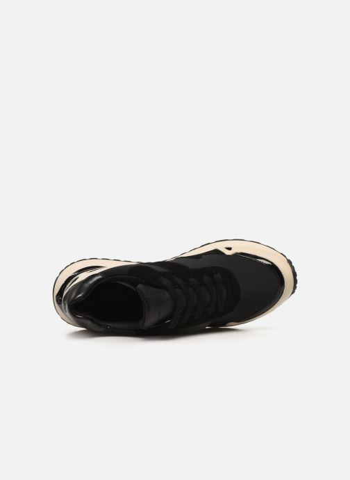 Sneakers Michael Michael Kors Monroe Trainer Zwart links