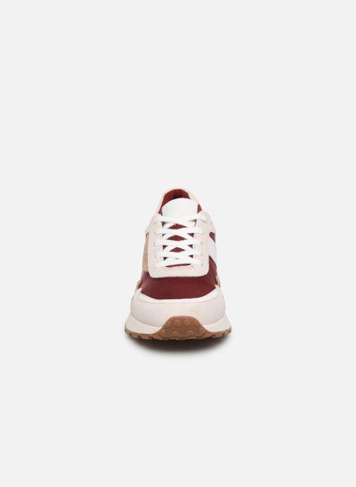 Baskets Michael Michael Kors Monroe Trainer Beige vue portées chaussures