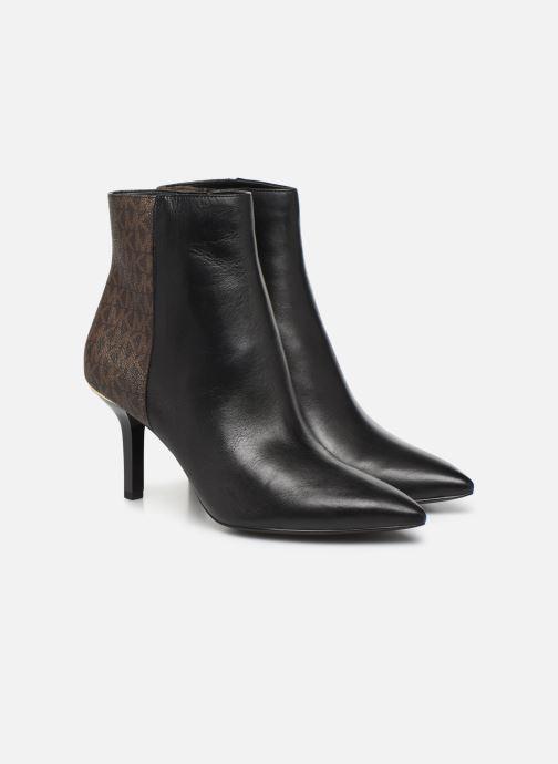 Bottines et boots Michael Michael Kors Katerina Bootie Noir vue 3/4