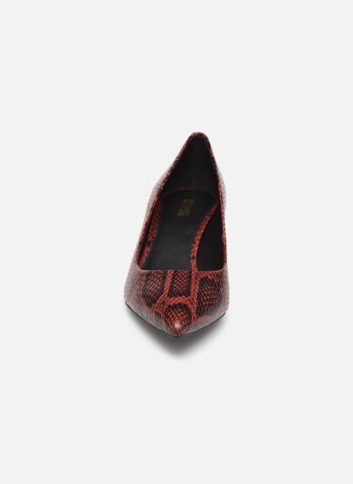 Escarpins Michael Michael Kors Katerina Flex Kitten Pump Bordeaux vue portées chaussures