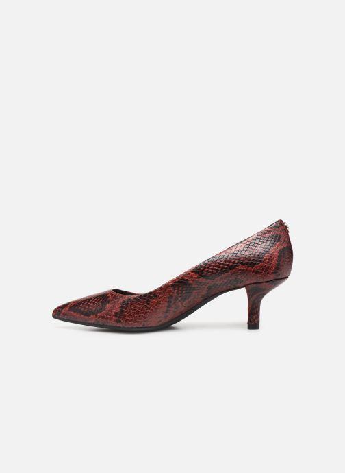 Zapatos de tacón Michael Michael Kors Katerina Flex Kitten Pump Vino vista de frente