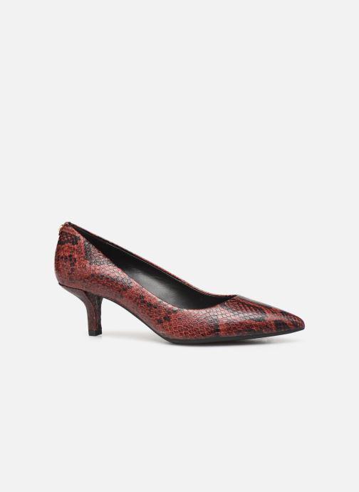 Zapatos de tacón Michael Michael Kors Katerina Flex Kitten Pump Vino vistra trasera