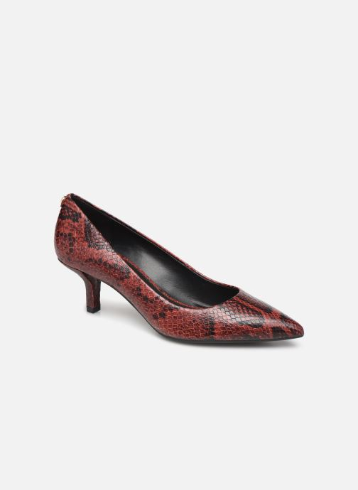 Zapatos de tacón Michael Michael Kors Katerina Flex Kitten Pump Vino vista de detalle / par