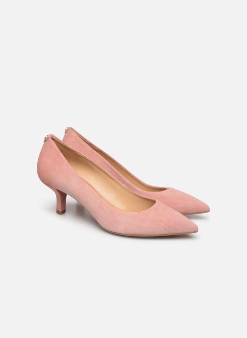 Zapatos de tacón Michael Michael Kors Katerina Flex Kitten Pump Rosa vista 3/4