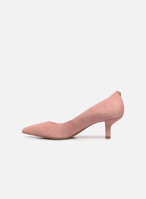 Zapatos de tacón Michael Michael Kors Katerina Flex Kitten Pump Rosa vista de frente