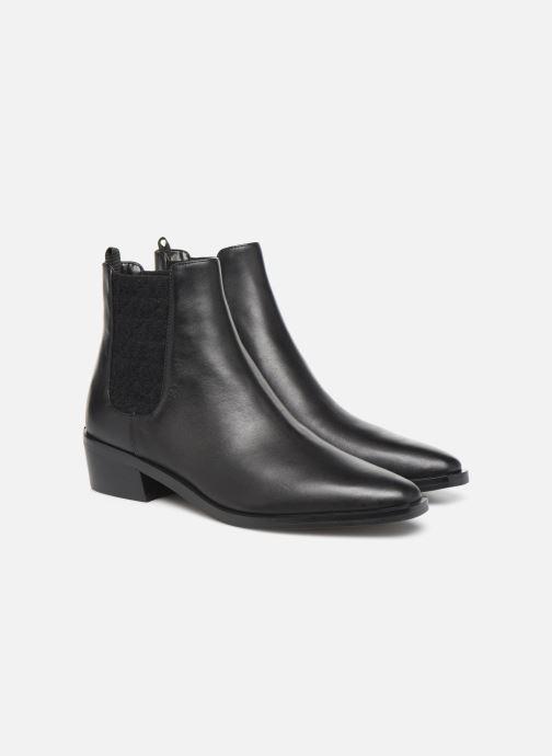 Bottines et boots Michael Michael Kors Lottie Flat Bootie Noir vue 3/4