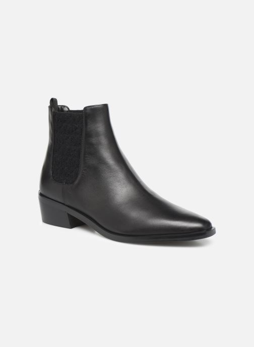 Bottines et boots Michael Michael Kors Lottie Flat Bootie Noir vue détail/paire