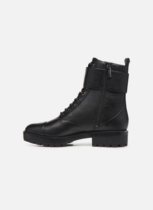 Boots en enkellaarsjes Michael Michael Kors Tatum Ankle Boot Zwart voorkant