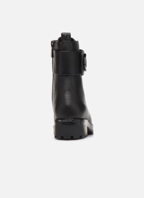 Boots en enkellaarsjes Michael Michael Kors Tatum Ankle Boot Zwart rechts
