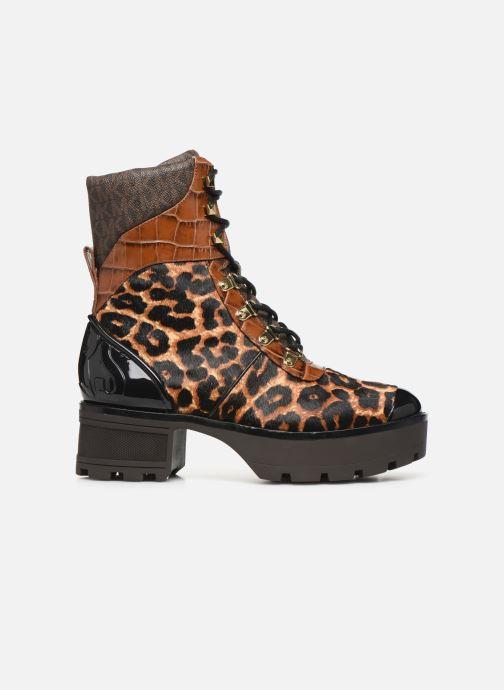 Boots en enkellaarsjes Michael Michael Kors Khloe Lace up bootie Bruin achterkant