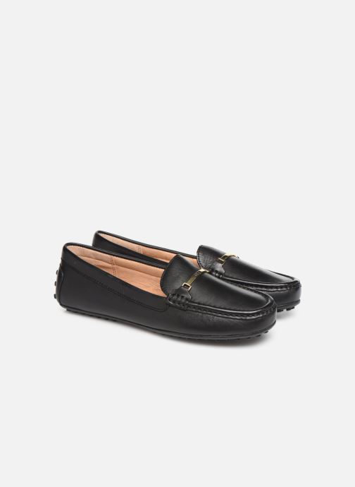 Loafers Lauren Ralph Lauren Briony Flats Black 3/4 view