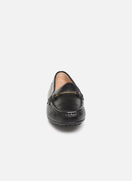 Loafers Lauren Ralph Lauren Briony Flats Black model view