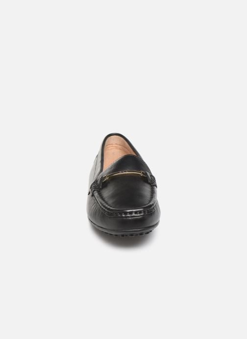 Mocassins Lauren Ralph Lauren Briony Flats Noir vue portées chaussures
