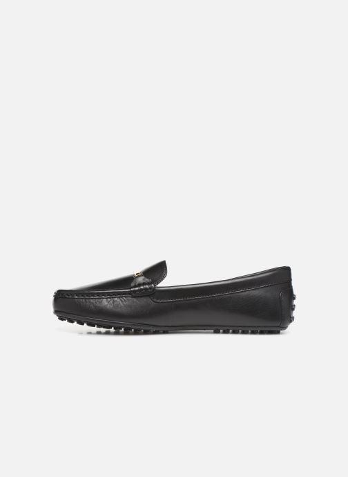 Loafers Lauren Ralph Lauren Briony Flats Black front view