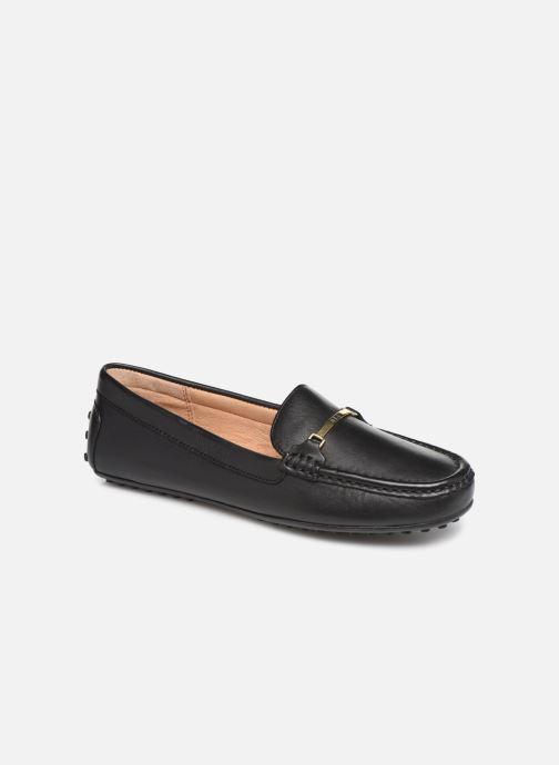 Loafers Lauren Ralph Lauren Briony Flats Black detailed view/ Pair view