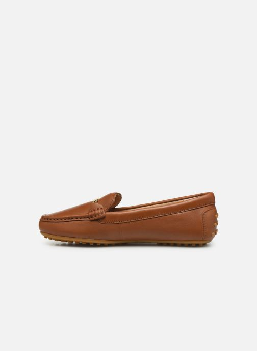 Loafers Lauren Ralph Lauren Briony Flats Brown front view