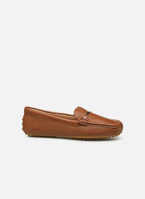 Loafers Lauren Ralph Lauren Briony Flats Brown back view