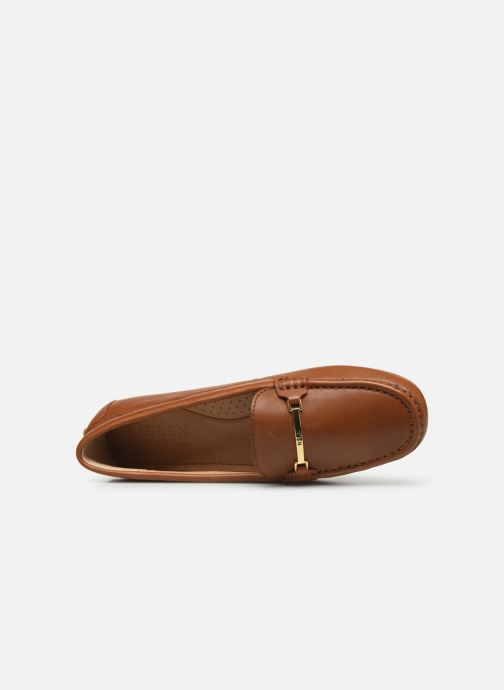 Loafers Lauren Ralph Lauren Briony Flats Brown view from the left