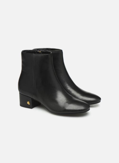 Botines  Lauren Ralph Lauren Welford Boots Negro vista 3/4
