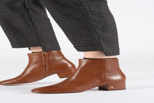 Bottines et boots Lauren Ralph Lauren Welford Boots Noir vue bas / vue portée sac