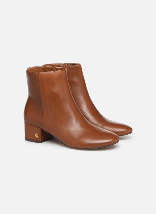Botines  Lauren Ralph Lauren Welford Boots Marrón vista 3/4