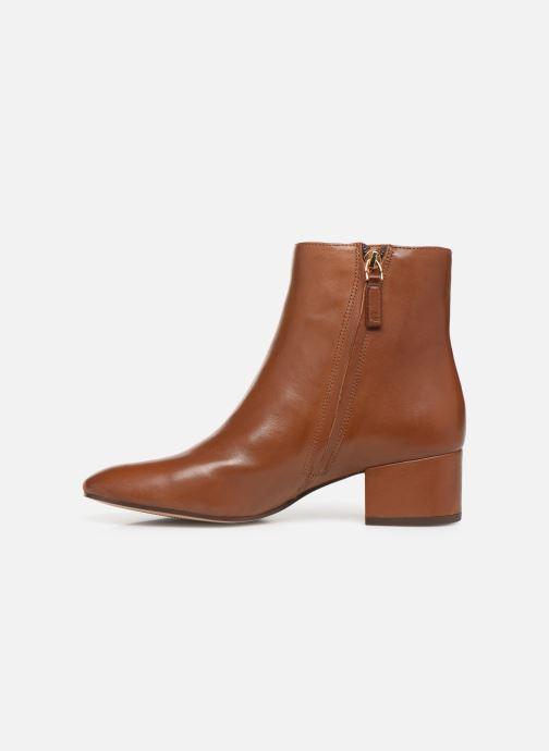 Boots en enkellaarsjes Lauren Ralph Lauren Welford Boots Bruin voorkant