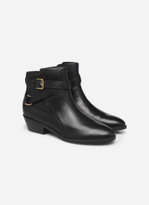 Botines  Lauren Ralph Lauren Egerton Boots Negro vista 3/4